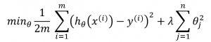 Regularisation function