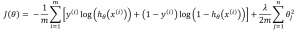 Regularised logistic regression